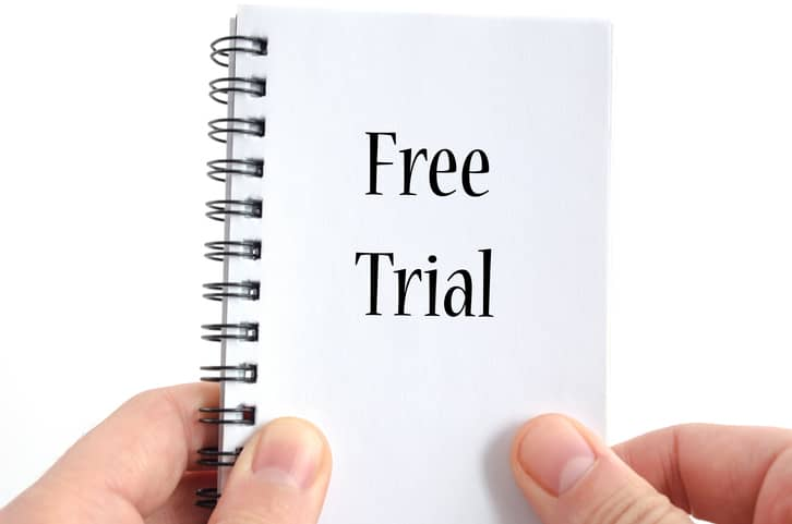 Free trial booklet image